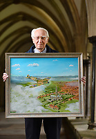 BNPS.co.uk (01202 558833)<br /> Pic: ZachCulpin/BNPS<br /> <br /> Historian Norman Parker launching the fund raising campaign at Salisbury Cathedral today.<br /> <br /> A campaign to build a memorial to honour the women and children who built over 2,000 Spitfires in secret to help win the Second World War has been launched.<br /> <br /> The little-known operation involved just a few hundred people who operated in requisitioned car garages, factories and workshops in the city of Salisbury.<br />  <br /> They built the legendary aircraft in piecemeal and worked with such discretion that the Wiltshire city's inhabitants were oblivious to it. <br /> <br /> The unsung workers were so prolific they accounted for one tenth of all Spitfires produced during the war.