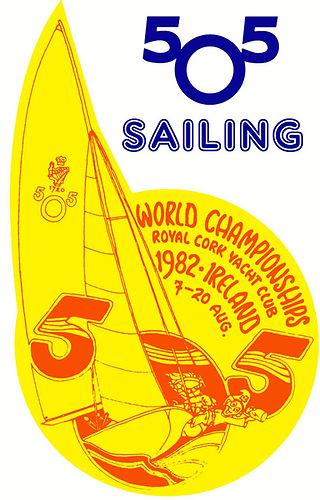 The 2022 505 World Championships at Royal Cork Yacht Club logo