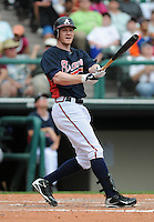 17 March 2009: Josh Anderson of the Atlanta Braves in a game against the New York Mets at the Braves' Spring Training camp at Disney's Wide World of Sports in Lake Buena Vista, Fla. Photo by:  Tom Priddy/Four Seam Images