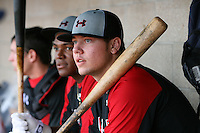 August 7, 2009:  First Baseman Kevin Koziol (7) of the Baseball Factory team during the Under Armour All-America event at Les Miller Field in Chicago, IL.  Photo By Mike Janes/Four Seam Images