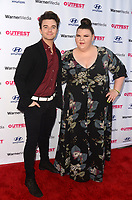 LOS ANGELES - AUG 19:  Chris Colfer, Ashley Fink at The Sixth Reel World Premiere at Directors Guild of America on August 19, 2021 in Los Angeles, CA