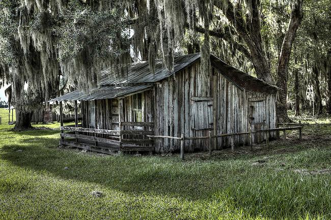 Circa 1800s Homestead Homesteads c1850-1950 Micanopy, Florida