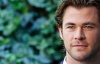 """L'attore australiano Chris Hemsworth  posa durante il photocall del film """"Rush"""" a Roma, 14 settembre 2013.<br /> Australian actor Chris Hemsworth poses during the photocall of the movie """"Rush"""" in Rome, 14 September 2013.<br /> UPDATE IMAGES PRESS/Isabella Bonotto"""