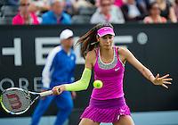 Netherlands, Rosmalen , June 08, 2015, Tennis, Topshelf Open, Autotron, Oceane Dodin (FRA)<br /> Photo: Tennisimages/Henk Koster