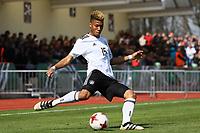 Sidney Friebe (Deutschland, Hertha BSC Berlin) - 25.03.2017: U19 Deutschland vs. Serbien, Sportpark Kelsterbach