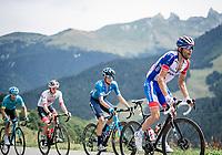 Thibaut Pinot (FRA/Groupama-FDJ)<br /> <br /> Stage 5: Megève to Megève (154km)<br /> 72st Critérium du Dauphiné 2020 (2.UWT)<br /> <br /> ©kramon