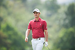 Justin Rose of England during Hong Kong Open golf tournament at the Fanling golf course on 25 October 2015 in Hong Kong, China. Photo by Xaume Olleros / Power Sport Images