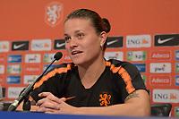 VOETBAL: HEERENVEEN: 02-09-2019, persconferentie Nederlands vrouwenvoetbalteam, Sherida Spitse, ©foto Martin de Jong