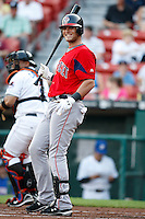 July 28, 2009:  First Baseman Aaron Bates of the Pawtucket Red Sox during a game at Coca-Cola Field in Buffalo, NY.  Pawtucket is the International League Triple-A affiliate of the Boston Red Sox.  Photo By Mike Janes/Four Seam Images