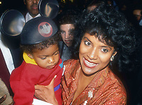 Phylicia Rashad and daughter 1988  Photo by Adam Scull-PHOTOlink.net