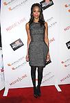 Zoe Saldana at The Movieline.com Presentation of The 4th Annual Hamilton Behind the Camera Awards held at The Highlands in Hollywood, California on November 08,2009                                                                   Copyright 2009 DVS / RockinExposures