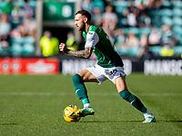 26th September 2021;  Easter Road , Leith, Edinburg, Scotland; Scottish Premier League football, Hibernian versus St Johnstone; Martin Boyle of Hibernian