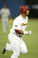 March 7, 2009:  Carlos Guillen (2) of Venezuela during the first round of the World Baseball Classic at the Rogers Centre in Toronto, Ontario, Canada.  Venezuela defeated Italy 7-0 in both teams opening game of the tournament.  Photo by:  Mike Janes/Four Seam Images