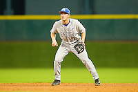Second baseman Matt Reida #6 of the Kentucky Wildcats on defense against the Rice Owls at Minute Maid Park on March 4, 2011 in Houston, Texas.  Photo by Brian Westerholt / Four Seam Images