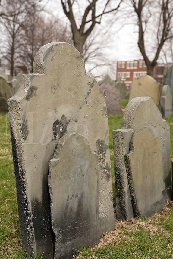 Copp's Hill Burying ground Freedom Trail Boston MA