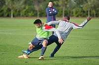 London, UK. - Tuesday, November 11, 2014: U.S. Men's National Team Training at Tottenham Hotspur Training Centre.