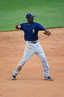 Cedar Rapids Kernels shortstop Nick Gordon (5) during a game against the West Michigan Whitecaps on June 7, 2015 at Fifth Third Ballpark in Comstock Park, Michigan.  West Michigan defeated Cedar Rapids 6-2.  (Mike Janes/Four Seam Images)
