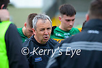 Kerry Manager Peter Keane after the Allianz Football League Division 1 South Round 1 match between Kerry and Galway at Austin Stack Park in Tralee.