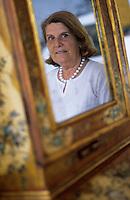 "Europe/Italie/Côte Amalfitaine/Campagnie/Positano : Virginia Attanasio-Cinque propriétaire de l'hôtel ""San Pietro"""