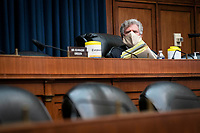 United States Representative Frank Pallone (Democrat of New Jersey), leads a US House Energy and Commerce Committee hearing in Washington, D.C., U.S., on Tuesday, June 23, 2020. Trump administration health officials will tell lawmakers that their agencies are preparing for a flu season that will be complicated by the coronavirus pandemic. <br /> Credit: Sarah Silbiger / Pool via CNP/AdMedia