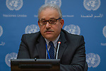 Noon Briefing by the Spokesperson for the Secretary-General<br /> <br /> Guest: Mr. Ali Al-Za'tari, UN Resident and Humanitarian Coordinator in the Syrian Arab Republic