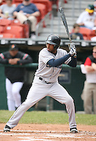 May 11th 2007:  Brandon Watson of the Columbus Clippers during an at bat vs the Buffalo Bisons in International League baseball action.  Photo by Mike Janes/Four Seam Images