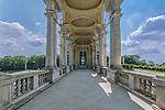 Europe, Austria, Vienna, Schonbrunn Palace, Cafe Gloriette Side Entrance