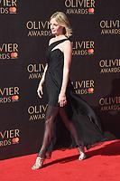 Elize du Toit<br /> arriving for the Olivier Awards 2017 at the Royal Albert Hall, Kensington, London.<br /> <br /> <br /> ©Ash Knotek  D3245  09/04/2017