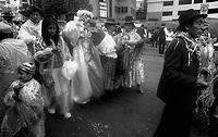 02.2010 La Paz (Bolivia)<br /> <br /> Défilé lors du carnaval de La Paz.<br /> <br /> Parade of the carnival in La Paz.