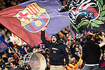 FC Barcelona's supporters during Spanish Kings Cup semifinal 2nd leg match. February 07,2017. (ALTERPHOTOS/Acero)