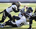 Nevada's Rishard Matthews runs up the middle against Idaho during NCAA football game in Reno, Nev., on Saturday, Dec. 3, 2011. Nevada won 56-3.  .Photo by Cathleen Allison