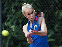 Hilversum, Netherlands, August 8, 2016, National Junior Championships, NJK, Flore Hullegie (NED)<br /> Photo: Tennisimages/Henk Koster