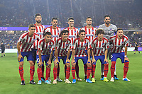 Orlando, FL - Wednesday July 31, 2019:  Atletico Madrid Starting XI during the Major League Soccer (MLS) All-Star match between the MLS All-Stars and Atletico Madrid at Exploria Stadium.