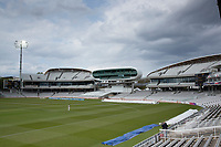 The new developments either side of the media centre during Middlesex CCC vs Gloucestershire CCC, LV Insurance County Championship Group 2 Cricket at Lord's Cricket Ground on 7th May 2021