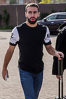 Spainsh Daniel Carvajal  arriving at the concentration of the spanish national football team in the city of football of Las Rozas in Madrid, Spain. November 08, 2016. (ALTERPHOTOS/Rodrigo Jimenez) ///NORTEPHOTO.COM
