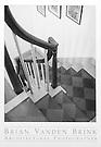 PAINTED STAIR<br /> CIRCA 1820<br /> Arundel, Maine<br /> Moses Eaton, Artist © Brian Vanden Brink, 2004