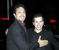 MIAMI BEACH_FL - NOVEMBER 01, 2007:  Actors Benjamin Bratt and John Leguizamo at the Love In The Time Of Cholera - Market America official After party at the Sagamore  <br /> <br /> People:  Benjamin Bratt;   John Leguizamo