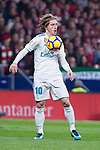 Real Madrid Luka Modric during La Liga match between Atletico de Madrid and Real Madrid at Wanda Metropolitano in Madrid, Spain. November 18, 2017. (ALTERPHOTOS/Borja B.Hojas)