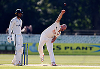 Darren Stevens bowls for Kent during Kent CCC vs Worcestershire CCC, LV Insurance County Championship Division 3 Cricket at The Spitfire Ground on 7th September 2021