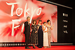 Movie, The Low Life appears on the opening red carpet for The 30th Tokyo International Film Festival in Roppongi on October 25th, 2017, in Tokyo, Japan. The festival runs from October 25th to November 3rd at venues in Tokyo. (Photo by Michael Steinebach/AFLO)