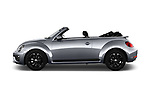 Car Driver side profile view of a 2017 Volkswagen Beetle Design 2 Door Convertible Side View
