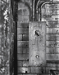 A General Electric control box at a coal burning power plant