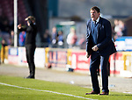 Inverness Caley v St Johnstone…08.04.17     SPFL    Tulloch Stadium<br />Tommy Wright goes mad at his players<br />Picture by Graeme Hart.<br />Copyright Perthshire Picture Agency<br />Tel: 01738 623350  Mobile: 07990 594431