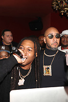 NEW YORK, NY- SEPTEMBER 12: Capella Grey and Swizz Beatz pictured at Swizz Beatz Surprise Birthday Party at Little Sister in New York City on September 12, 2021. Credit: Walik Goshorn/MediaPunch
