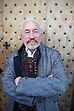 Simon Callow, Actor and writer at The Oxford Literary Festival at Christchurch College Oxford  . Credit Geraint Lewis