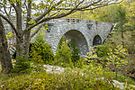 The stone bridge at Duck Brook, Acadia National Park, Downeast, ME