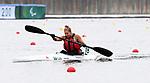 Brianna Hennessy, Tokyo 2020 - Para Canoe // Paracanoë.<br /> Brianna Hennessy competes in the women's single KL2 200m Kayak // Brianna Hennessy participe au kayak simple féminin KL2 200m. 09/04/2021.