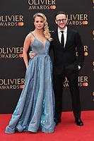 Joanne and Kevin Clifton<br /> arriving for the Olivier Awards 2019 at the Royal Albert Hall, London<br /> <br /> ©Ash Knotek  D3492  07/04/2019