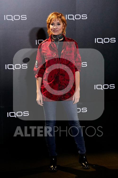 Nathalie Poza attends to IQOS3 presentation at Palacio de Cibeles in Madrid, Spain. February 13, 2019. (ALTERPHOTOS/A. Perez Meca)