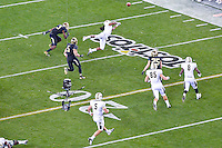 January 01, 2014:<br /> <br /> UCF Knights running back Storm Johnson #8 attempts to catch a pass during second half of Tostitos Fiesta Bowl at University of Phoenix Stadium in Scottsdale, AZ. UCF defeat Baylor 52-42 to claim it's first ever BCS Bowl trophy.